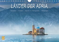 Länder der Adria (Wandkalender 2021 DIN A4 quer) von L. Beyer,  Stefan