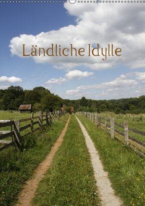 Ländliche Idylle (Wandkalender 2018 DIN A2 hoch) von Lindert-Rottke,  Antje