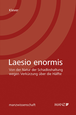 Laesio enormis von Klever,  Lukas