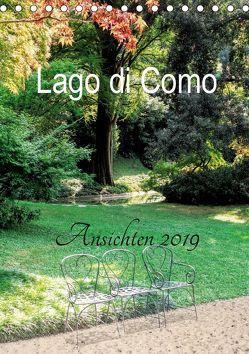 Lago di Como Ansichten 2019 (Tischkalender 2019 DIN A5 hoch) von Hennings,  Christian