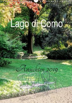 Lago di Como Ansichten 2019 (Wandkalender 2019 DIN A3 hoch) von Hennings,  Christian