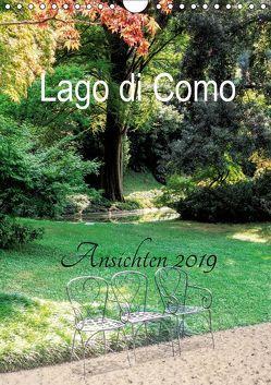 Lago di Como Ansichten 2019 (Wandkalender 2019 DIN A4 hoch) von Hennings,  Christian