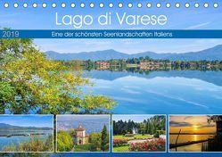 Lago di Varese – Eine der schönsten Seenlandschaften Italiens (Tischkalender 2019 DIN A5 quer) von LianeM