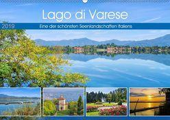 Lago di Varese – Eine der schönsten Seenlandschaften Italiens (Wandkalender 2019 DIN A2 quer) von LianeM