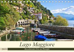 Lago Maggiore – Bezaubernde Orte am Westufer (Tischkalender 2019 DIN A5 quer) von LianeM
