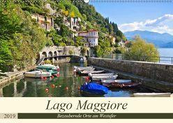 Lago Maggiore – Bezaubernde Orte am Westufer (Wandkalender 2019 DIN A2 quer) von LianeM