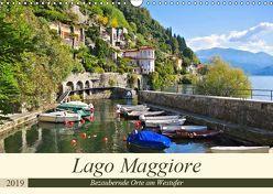Lago Maggiore – Bezaubernde Orte am Westufer (Wandkalender 2019 DIN A3 quer) von LianeM