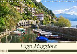 Lago Maggiore – Bezaubernde Orte am Westufer (Wandkalender 2019 DIN A4 quer) von LianeM