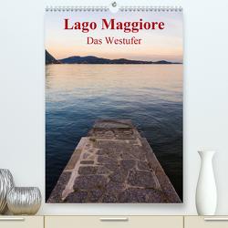 Lago Maggiore – Das Westufer (Premium, hochwertiger DIN A2 Wandkalender 2021, Kunstdruck in Hochglanz) von N.,  N.