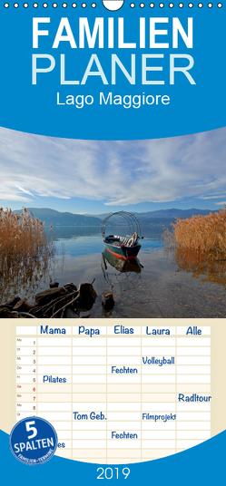 Lago Maggiore – Familienplaner hoch (Wandkalender 2019 , 21 cm x 45 cm, hoch) von Kruse,  Joana