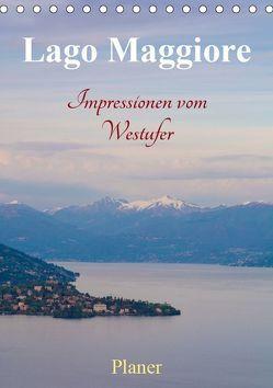 Lago Maggiore – Impressionen vom Westufer (Tischkalender 2019 DIN A5 hoch)