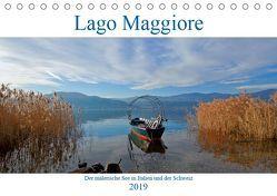 Lago Maggiore (Tischkalender 2019 DIN A5 quer) von Kruse,  Joana