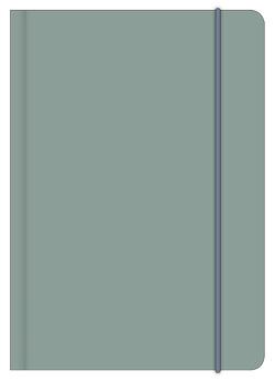 LAKE 12×17 cm – Blankbook – 240 blanko Seiten – Softcover – gebunden