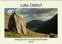 Lake District – Streifzüge durch ein englisches Paradies (Wandkalender 2019 DIN A2 quer) von Hallweger,  Christian