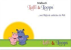 Lalli & Loops / Lalli & Loops Malbuch von Klinkowski,  Sandra