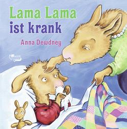 Lama Lama ist krank von Dewdney,  Anna, Reh,  Rusalka
