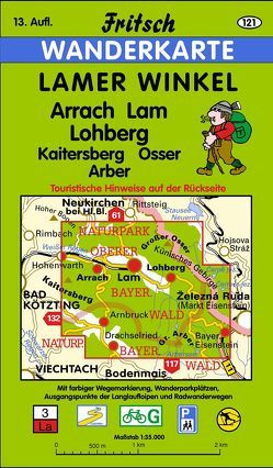 Lamer Winkel von Fritsch Landkartenverlag