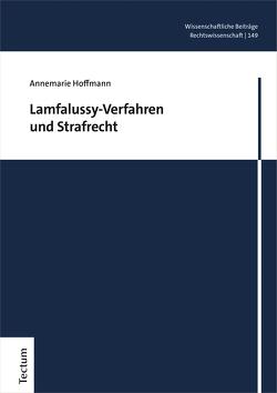 Lamfalussy-Verfahren und Strafrecht von Hoffmann,  Annemarie