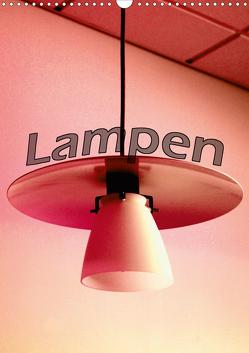 Lampen (Wandkalender 2020 DIN A3 hoch) von tinadefortunata