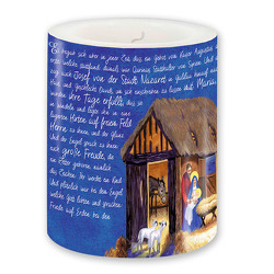 Lampionkerze Lukas-Evangelium »Ehre sei Gott«