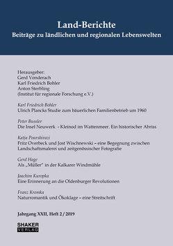 Land-Berichte. Beiträge zu ländlichen und regionalen Lebenswelten von Bohler,  Karl Friedrich, Sterbling,  Anton, Vonderach,  Gerd