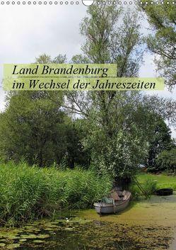 Land Brandenburg im Wechsel der Jahreszeiten (Wandkalender 2019 DIN A3 hoch)