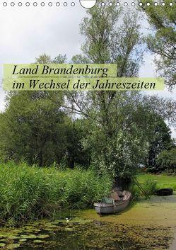 Land Brandenburg im Wechsel der Jahreszeiten (Wandkalender 2019 DIN A4 hoch) von Frost,  Anja