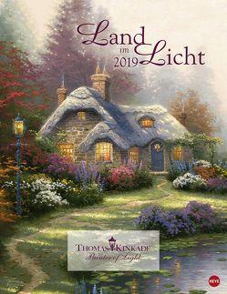 Land im Licht – Kalender 2019 von Heye, Kinkade,  Thomas