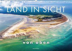 Land in Sicht – Mecklenburg-Vorpommern von oben (Wandkalender 2019 DIN A2 quer) von Kilmer,  Sascha