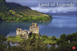 Land of Legends Kalender 2021 von Heye