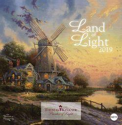Land of Light Broschurkalender – Kalender 2019 von Heye, Kinkade,  Thomas
