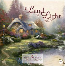 Land of Light Broschurkalender Kalender 2020 von Heye, Kinkade,  Thomas