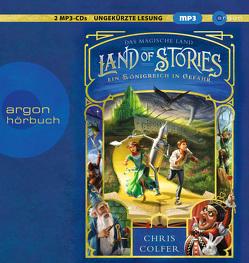 Land of Stories: Das magische Land 4 – Ein Königreich in Gefahr von Beck,  Rufus, Colfer,  Chris, Dorman,  Brandon, Pfeiffer,  Fabienne
