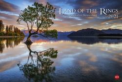 Land of the Rings – Neuseeland Kalender 2021 von Heye
