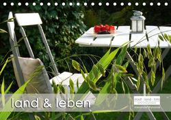 land und leben (Tischkalender 2021 DIN A5 quer) von Wynands,  Alexander