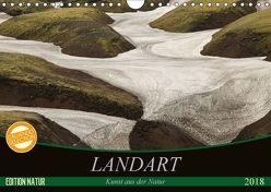 Landart – Kunst aus der Natur (Wandkalender 2018 DIN A4 quer) von N.,  N.