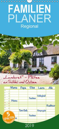 """""""Landarzt"""" – Plätze an Schlei und Ostsee – Familienplaner hoch (Wandkalender 2019 , 21 cm x 45 cm, hoch) von Niehoff,  Ulrich"""