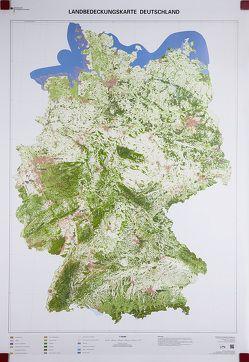 Landbedeckungskarte Deutschland 1 : 750 000 von BKG - Bundesamt für Kartographie und Geodäsie