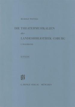 Landesbibliothek Coburg – Theatermusikalien. Thematischer Katalog von Erdmann,  Jürgen, Potyra,  Rudolf
