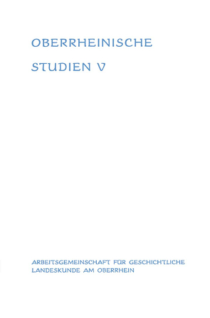 Landesgeschichte und Zeitgeschichte von Schwarzmaier,  Hansmartin