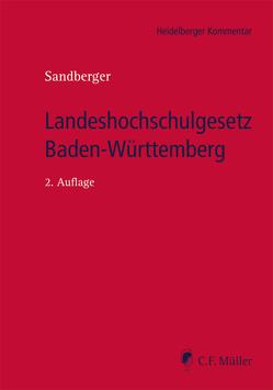 Landeshochschulgesetz Baden-Württemberg von Sandberger,  Georg