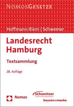 Landesrecht Hamburg von Hoffmann-Riem,  Wolfgang, Schwemer,  Holger