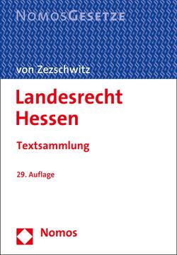 Landesrecht Hessen von von Zezschwitz,  Friedrich