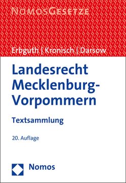 Landesrecht Mecklenburg-Vorpommern von Darsow,  Thomas, Erbguth,  Wilfried, Kronisch,  Joachim