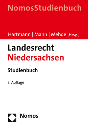 Landesrecht Niedersachsen von Hartmann,  Bernd J., Mann,  Thomas, Mehde,  Veith