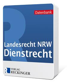 Landesrecht Nordrhein-Westfalen – Dienstrecht