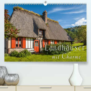 Landhäuser mit Charme (Premium, hochwertiger DIN A2 Wandkalender 2021, Kunstdruck in Hochglanz) von Mueringer,  Christian