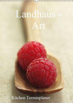 Landhaus-Art – Küchen Terminplaner / Planer (Wandkalender 2019 DIN A2 hoch) von Riedel,  Tanja
