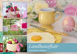 Landhausflair. Romantik im Grünen (Tischkalender 2019 DIN A5 quer) von Hurley,  Rose