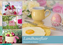 Landhausflair. Romantik im Grünen (Wandkalender 2019 DIN A2 quer) von Hurley,  Rose